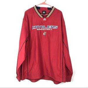 Adidas Cleveland Cavaliers Basketball Pull Over